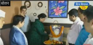 सोलन में कांग्रेस ने मनाई पूर्व प्रधानमंत्री राजीव गांधी की जयंती – दिव्य हिमाचल वेब टीवी