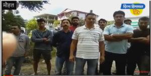 मौहल में कूड़े पर कोहराम, लोगों ने बंद किया संयंत्र का रास्ता-दिव्य हिमाचल टीवी