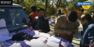 सोलन जिला के कंडाघाट में ट्रैफिक मजिस्ट्रेट ने नियम तोडऩे वालों के काटे चालान