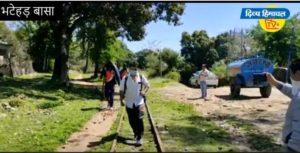 चंडीगढ़ से पैदल ही घर पहुंच गए लोग