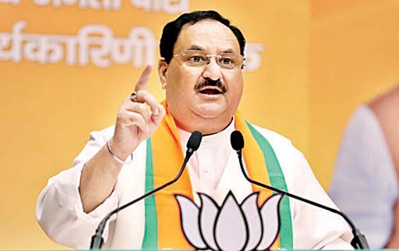Madhav-remove, सूर्या नए भाजयुमो अध्यक्ष, नड्डा ने किया नई टीम का ऐलान