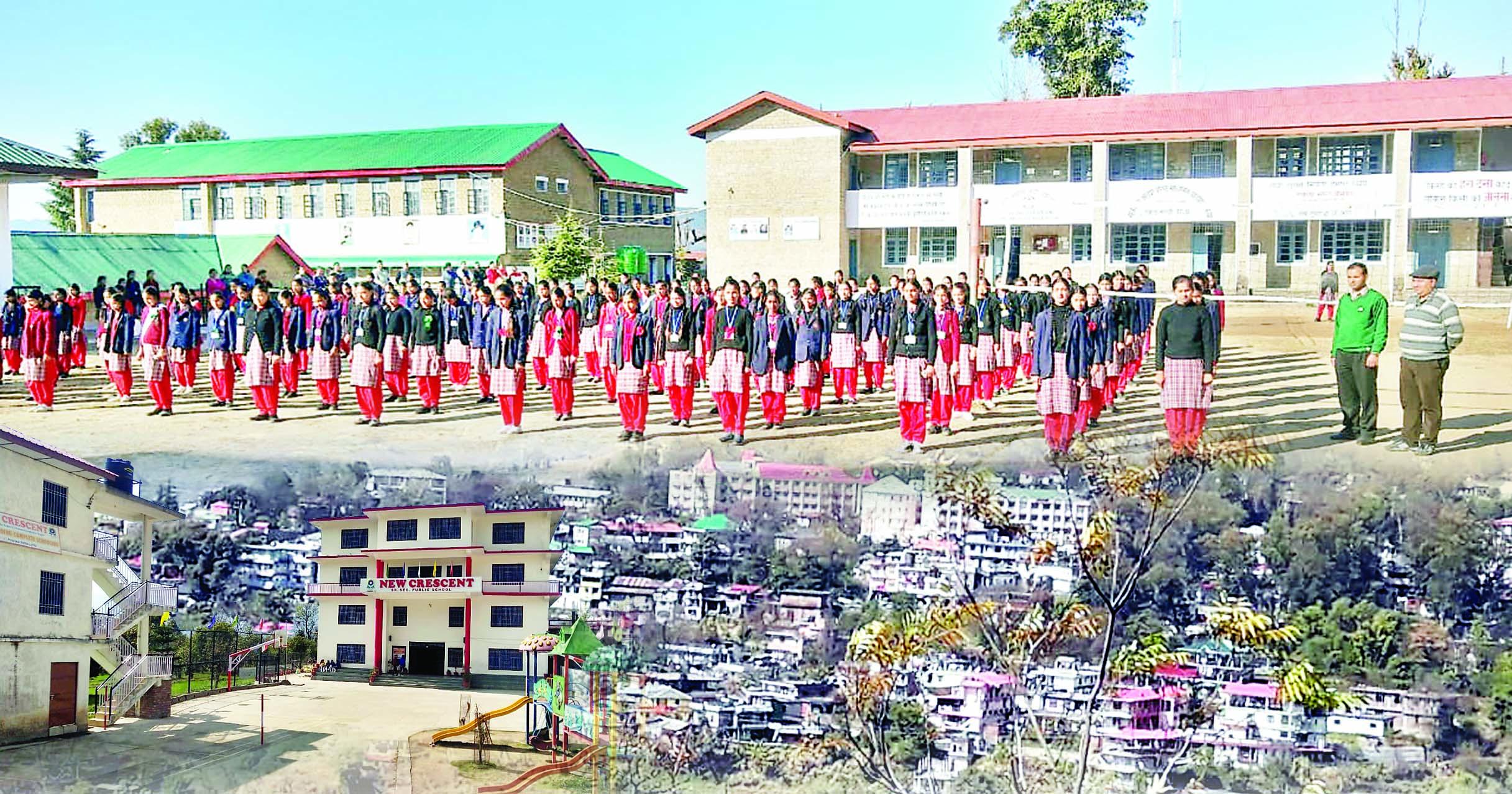 हाइटेक एजुकेशन के ट्रैक पर जोगिंद्रनगर