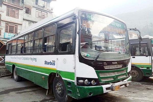 जाहू बस स्टैंड में बंद हो सकती है एचआरटीसी बसों की एंट्री