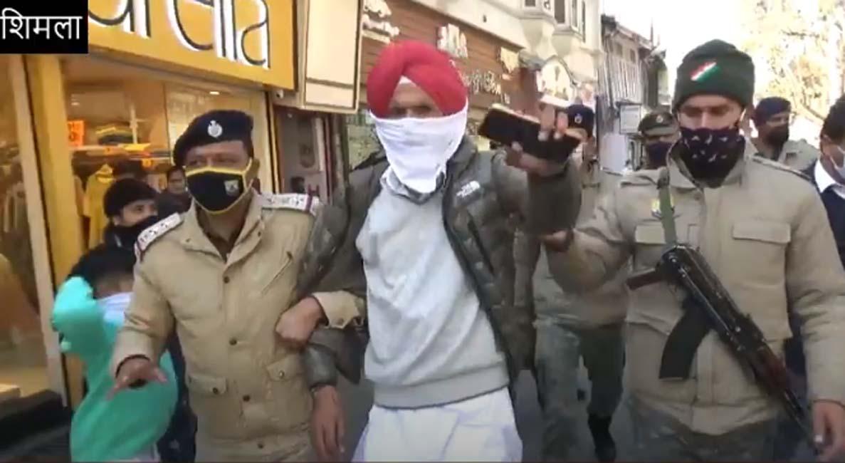 रिज पर सिंधु बॉर्डर से आए तीन किसानों को पुलिस ने पकड़ा; क्यों, जानें यहां