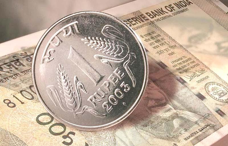 रुपया एक पैसा लुढ़का