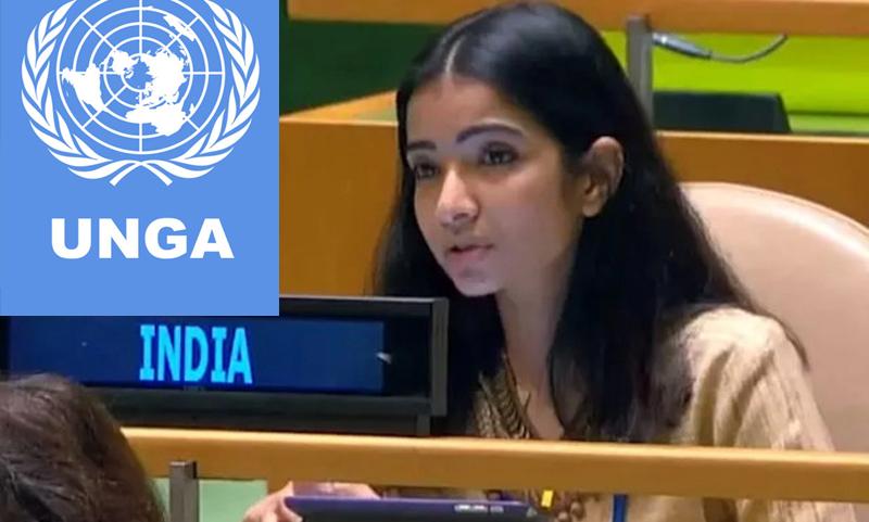 Sneha Dubey UNGA: भारत की महिला आईएफएस ने पाकिस्तान को सुंघा दी जमीन