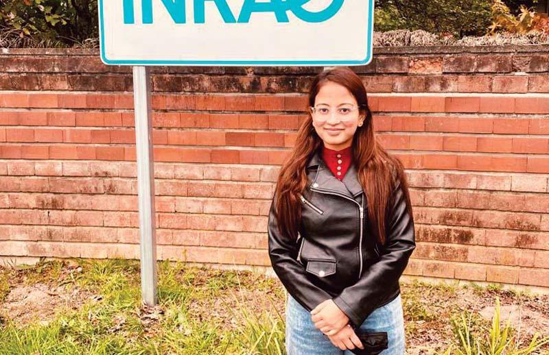 फ्रांस में पीएचडी करेंगी नैन्सी सागर, नौणी यूनिवर्सिटी की पूर्व छात्रा को मिली फेलोशिप